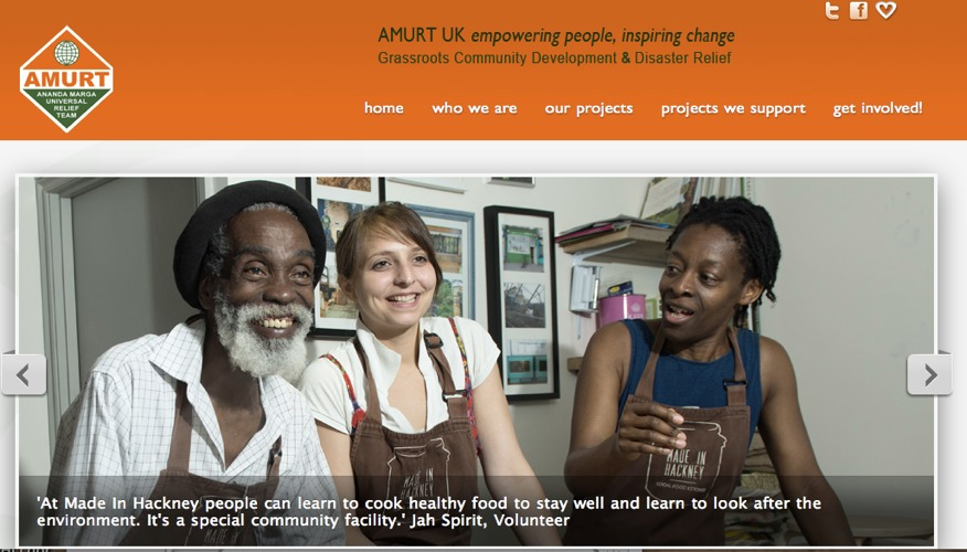 New AMURT UK Website Goes Live