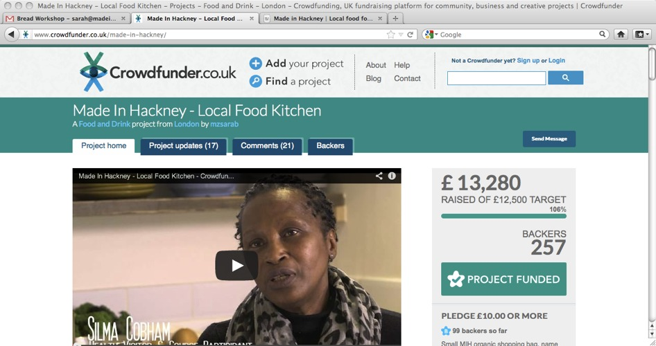 We did it! Made In Hackney Hits Crowdfunding Target!