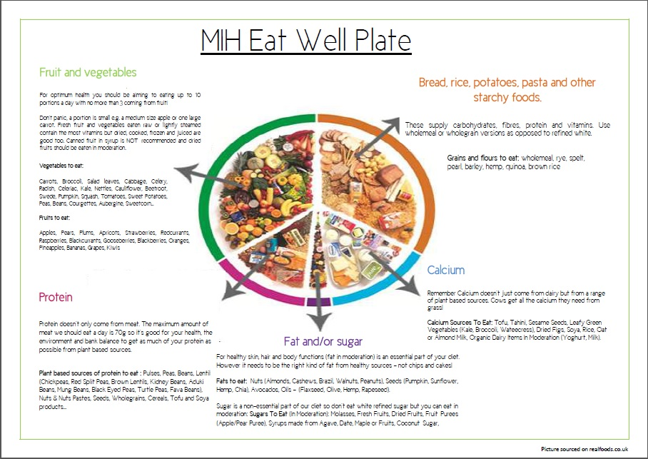 Printable Eatwell Plate Best Plate 2017