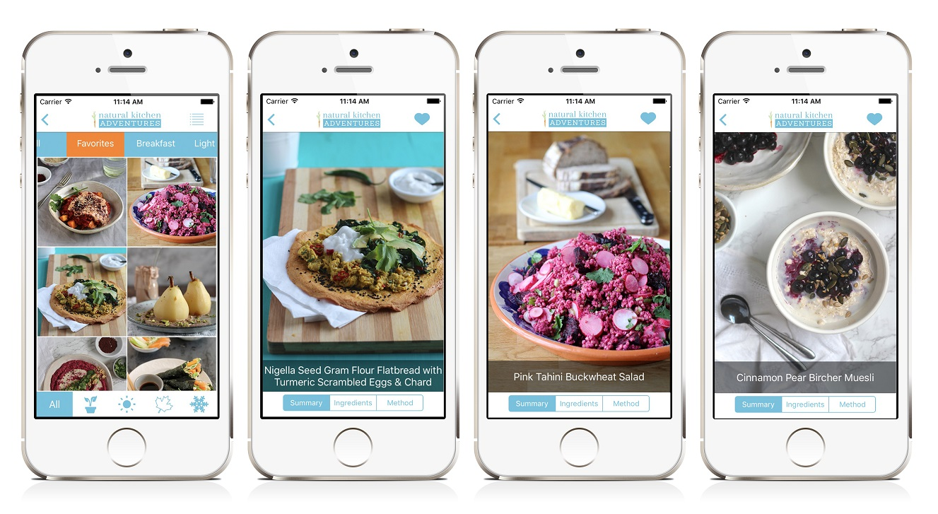 How to develop a Recipe App