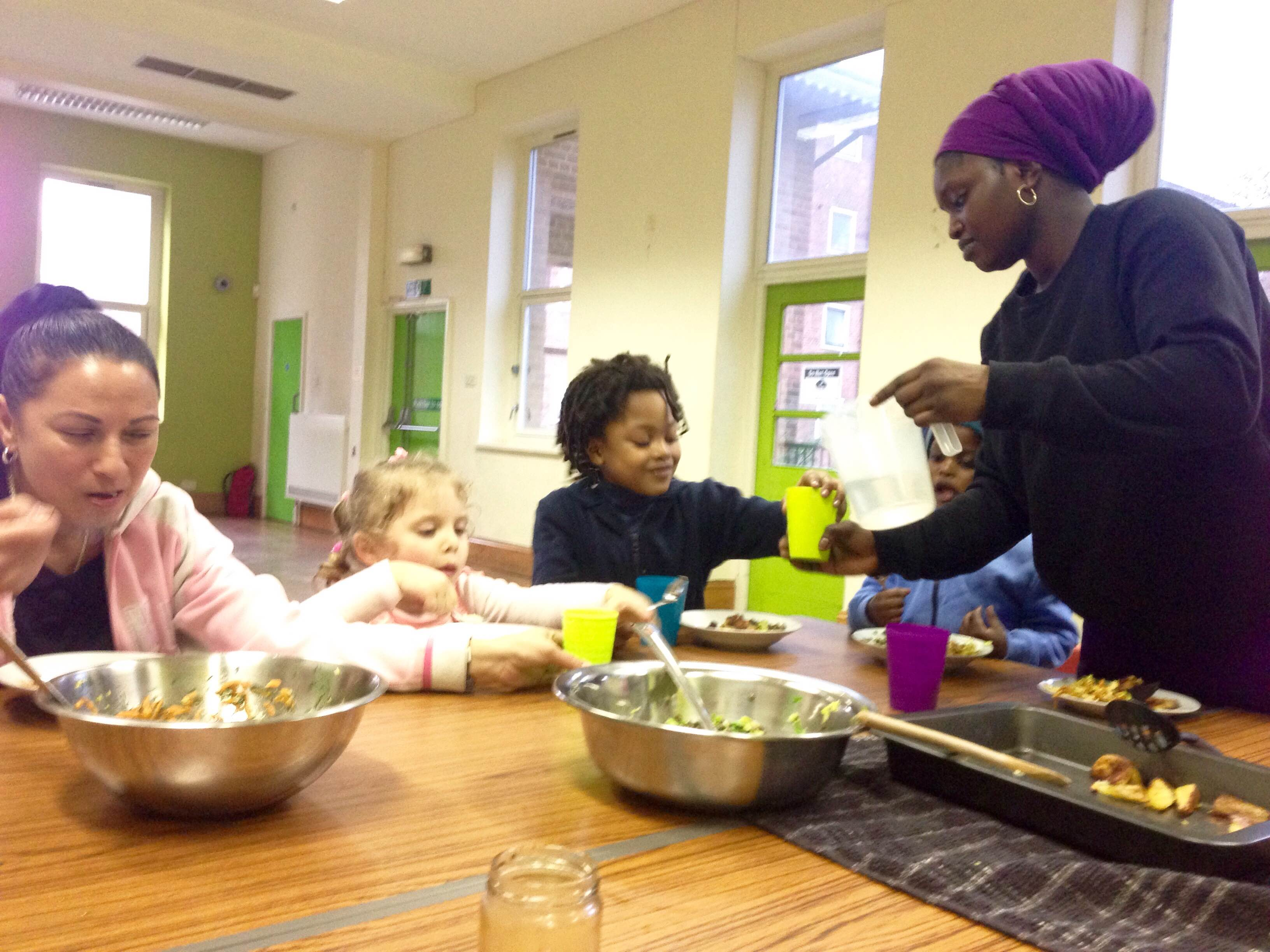 Cooking For Life - Parents & Children at Lea View Community Hall - Free! Book now