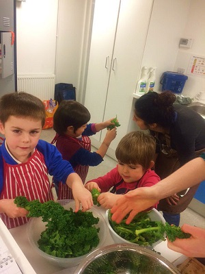 Cooking For Life - Parents & Children at Redmond Community Centre - Free! Book now