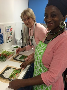Cooking for Life with Age UK Barnet