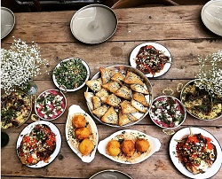 Middle Eastern Feast with Melek Erdal