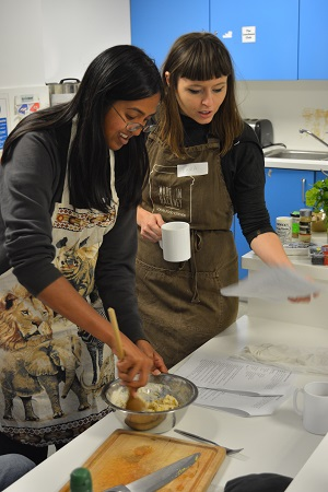 Feed one for £1ish - Saturday Cookery Club at Redmond Centre