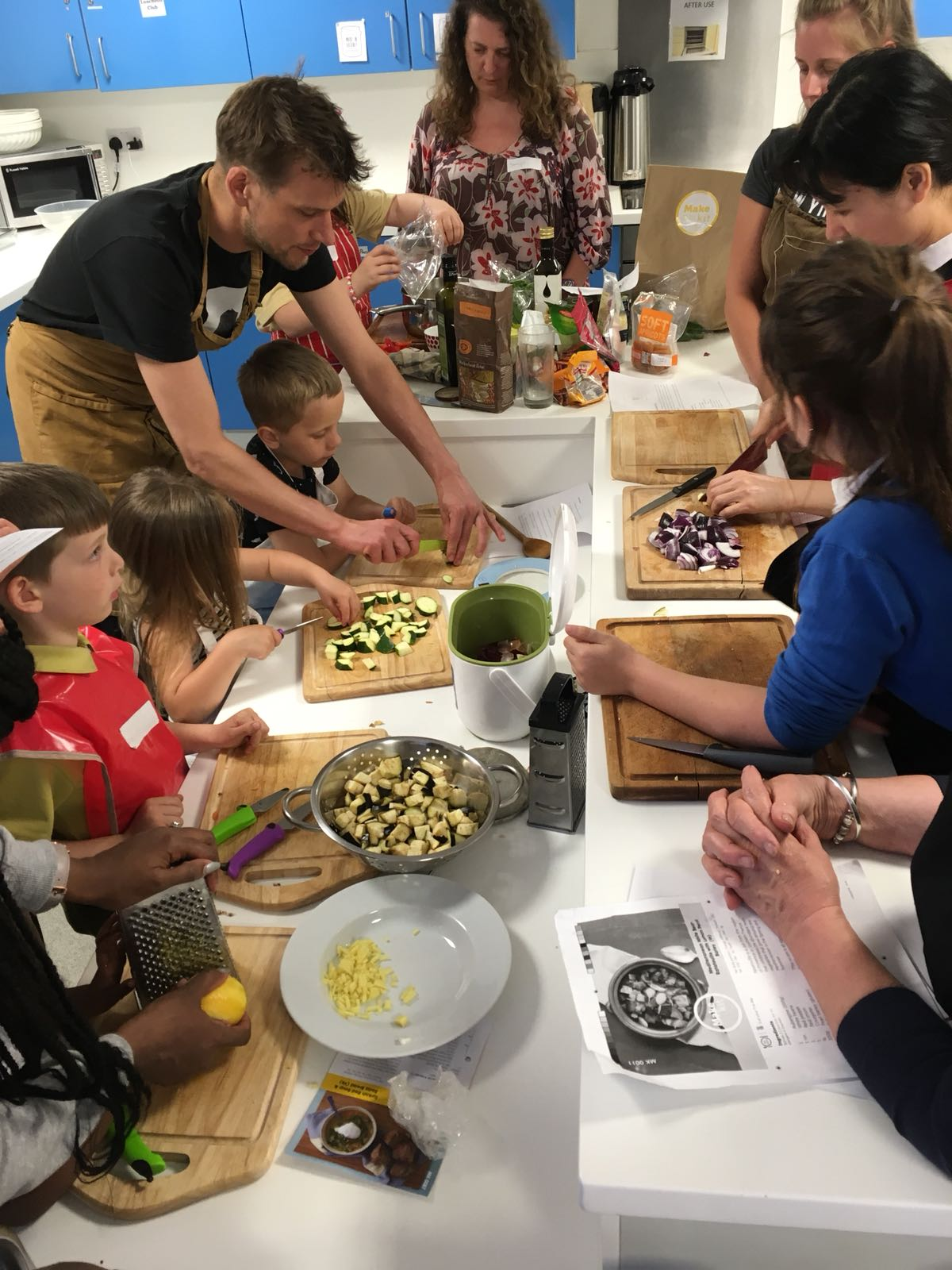 Cooking For Life - Family Cooking at Lea View House Community Hall - Free! Book now