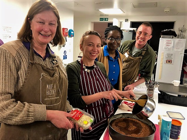 International Cuisine at Lea View House Community Hall
