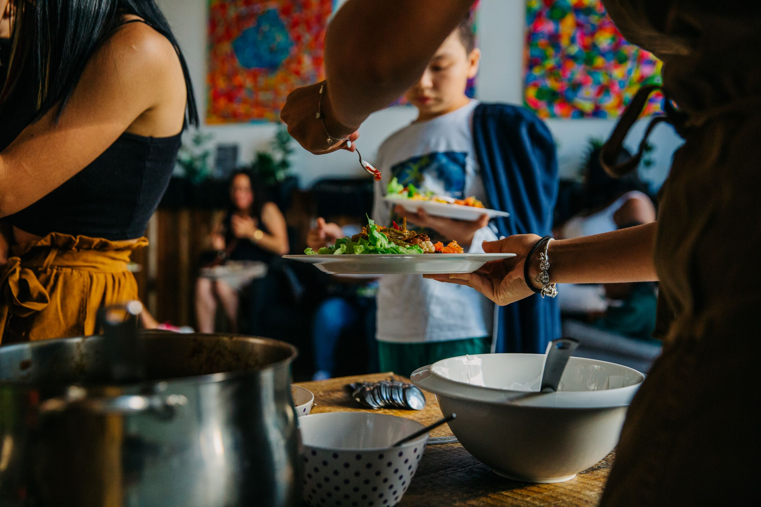 Community Cook and Eat Feast at Redmond Community Centre