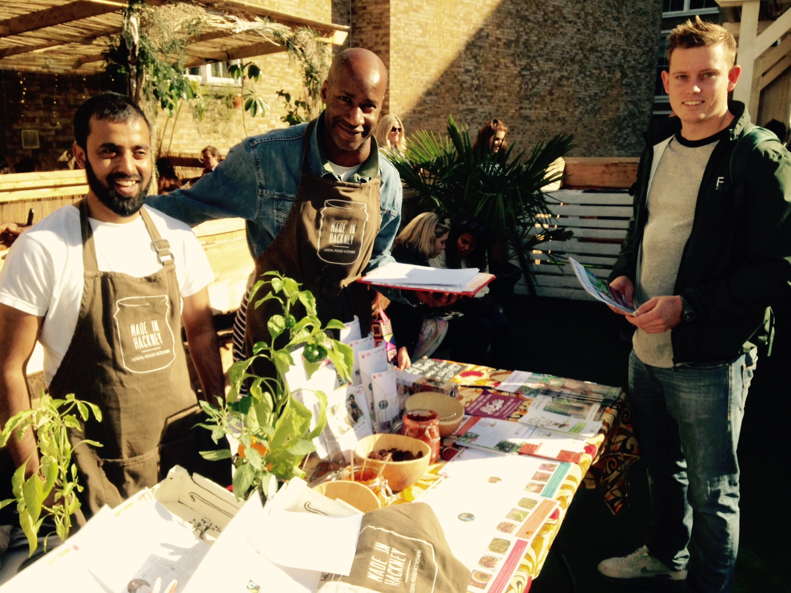 Volunteer with Made in Hackney