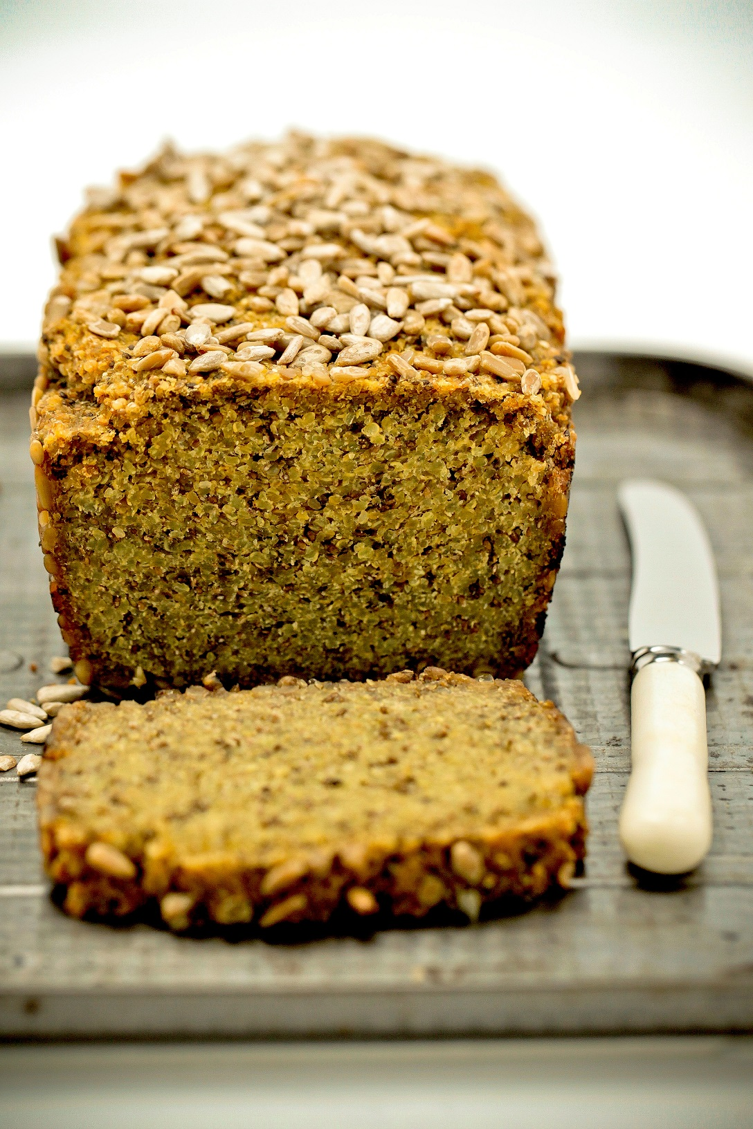 Gluten Free Quinoa and Chia Bread