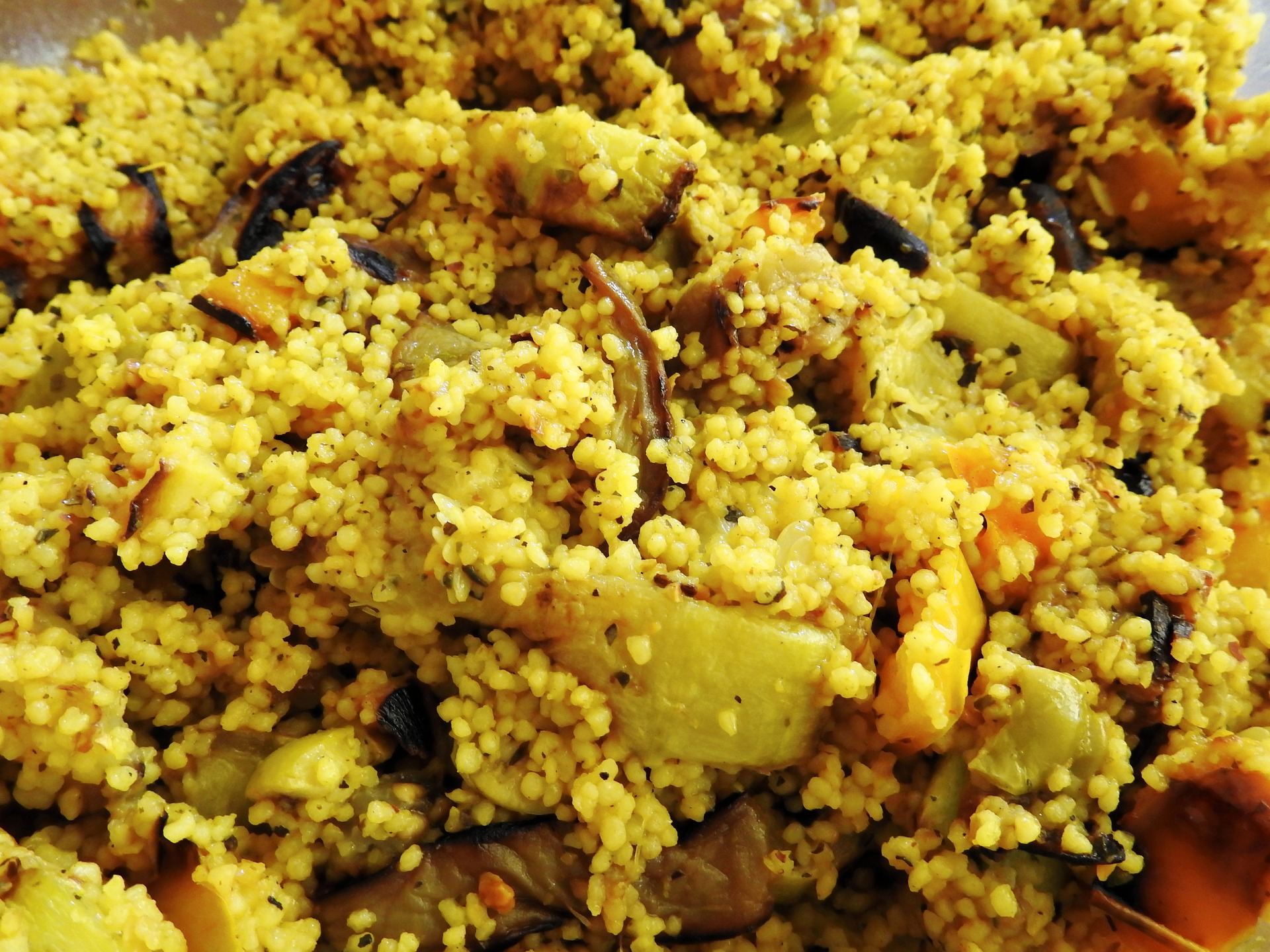 Roasted Vegetables and Cous Cous