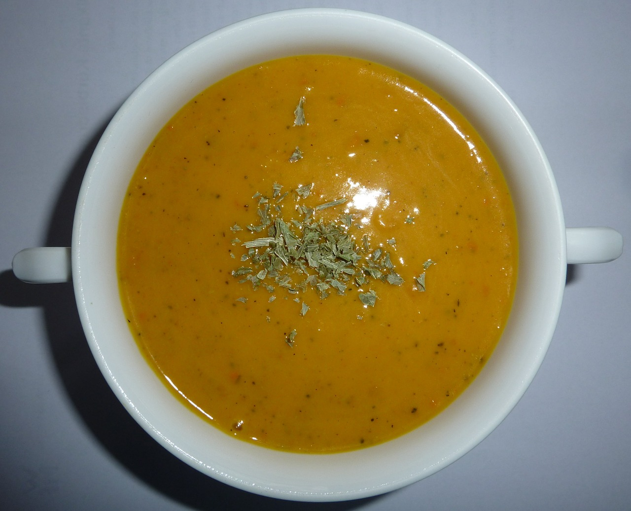 Nettle & Sweet Potato Soup