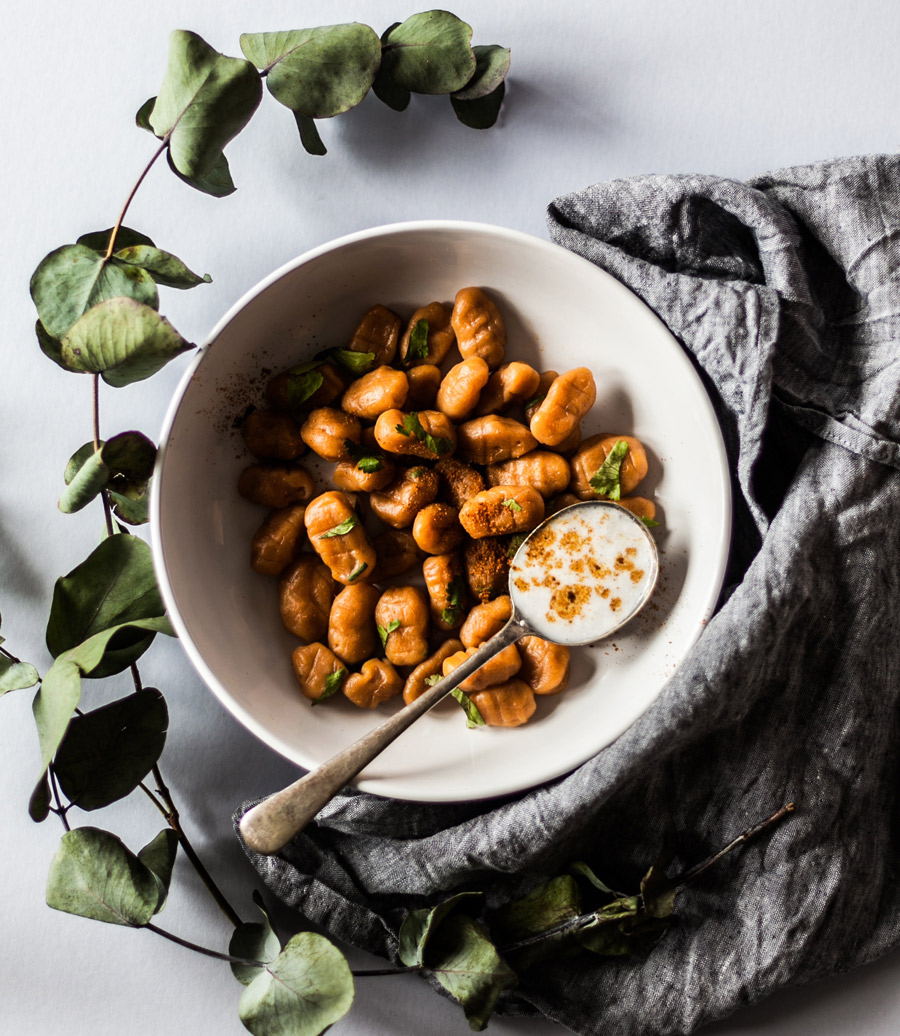 Pumpkin Gnocchi With Crispy Sage