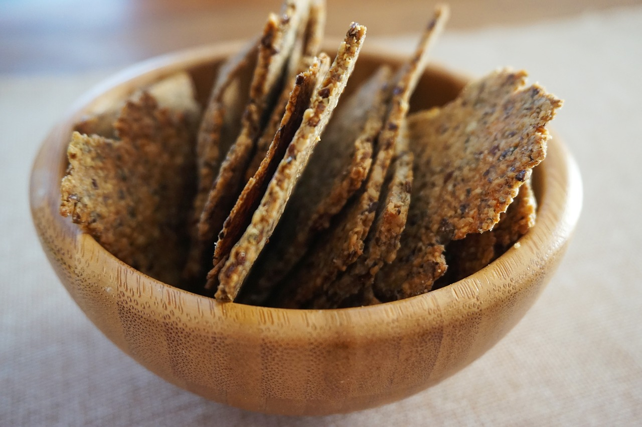 Mixed Seed Wholegrain Crackers