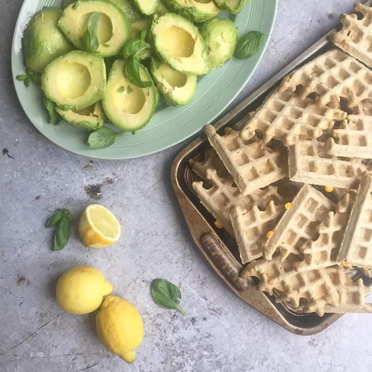 Sweetcorn Waffles